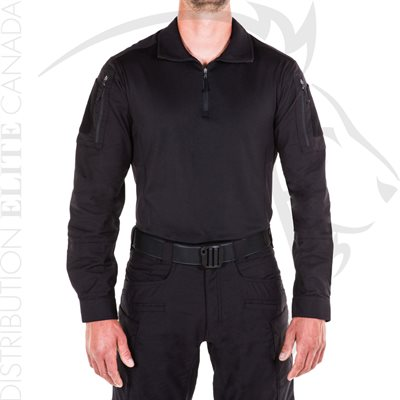 FIRST TACTICAL MEN DEFENDER SHIRT - BLACK - SMALL
