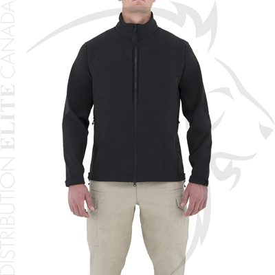 FIRST TACTICAL MEN TACTIX SOFTSHELL JACKET - BLACK - SM