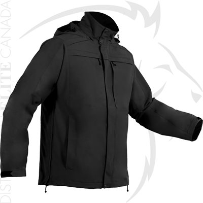 FIRST TACTICAL MEN SPECIALIST PARKA SHELL - BLACK - SMALL