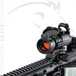 AIMPOINT PRO - PRÊT POUR ARME LONGUE - 30MM - MONTURE AR15 - PROTECTEUR DE LENTILLES FLIP