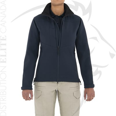 FIRST TACTICAL WOMEN TACTIX SOFTSHELL JACKET - NAVY - SM