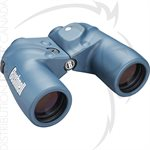 BUSHNELL 7X50MM BLUE PORRO PRISM COMPASS RANGING