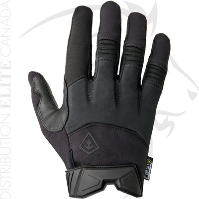 FIRST TACTICAL WOMEN MEDIUM WEIGHT PADDED GLOVES - BLK - SM