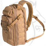 FIRST TACTICAL CROSSHATCH SLING PACK - COYOTE