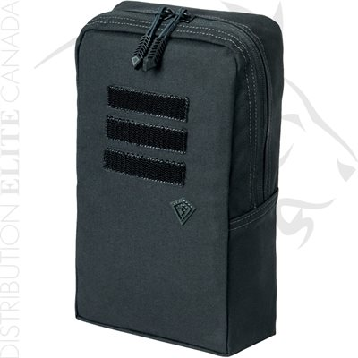 FIRST TACTICAL 6X10 UTILITY POUCH - BLACK