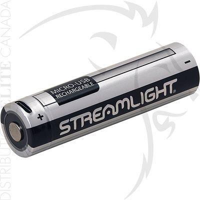 STREAMLIGHT 18650 USB BATTERIE
