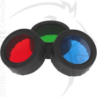 NIGHTSTICK FILTER SET - TAC SERIES - RED / GREEN / BLUE