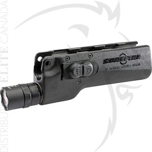 SUREFIRE DEDICATED SMG FOREND 3V MP5 500 LU - BLACK