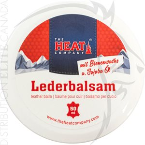 THE HEAT COMPANY HEAT LEATHER BALM - 50ML