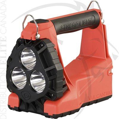 STREAMLIGHT VULCAN 180 HAZ-LO - 120V / 100V AC / 12V DC - ORANGE