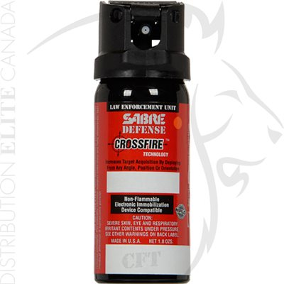 SABRE DEFFENSE 0.33% CROSSFIRE - MK-3 - 1.5oz - STREAM