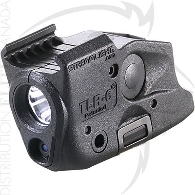 STREAMLIGHT TLR-6 RAIL (GLOCK®) A / BLANC LED & ROUGE LASER
