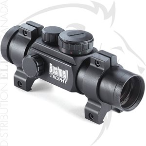 BUSHNELL 1X28 BLK MATTE RED DOT 4 DIAL-IN RED / GREEN