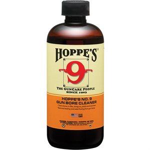 HOPPES NO 9 GUN BORE CLEANER - BOTTLE - 1 PINT