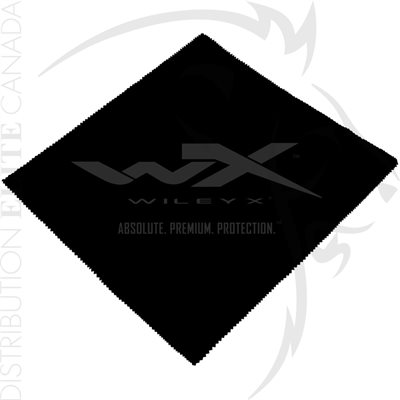 WILEY X CLEANING CLOTH W / WILEY X LOGO 12X12in