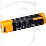 FENIX ARB-L18 3500mAh USB RECHARGEABLE LI-ION 18650 BATTERY
