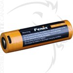 FENIX ARB-L21 5000mAh USB RECHARGEABLE LI-ION 21700 BATTERY