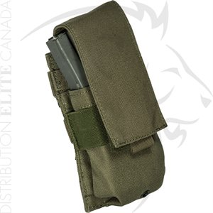 ARMOR EXPRESS BASE M16 & M4 SINGLE COVERED MAG POUCH