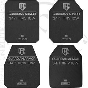 ARMOR EXPRESS HIGHCOM GUARDIAN 34I1 III & IV ICW RIFLE PLATE