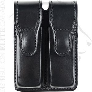 BIANCHI 20C PATROLTEK LEATHER DOUBLE MAGAZINE POUCH