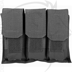 BLACKHAWK HOOK BACKED TRIPLE M16 MAG POUCH