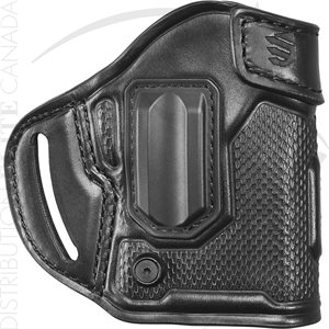 BLACKHAWK MBOSS LEATHER COMPACT ASKINS HOLSTER