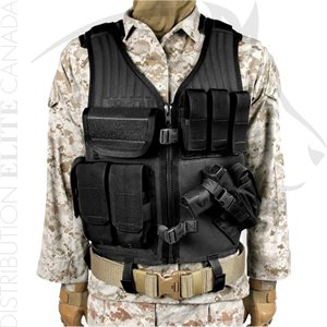 BLACKHAWK OMEGA ELITE CROSS DRAW & PISTOL MAG VEST