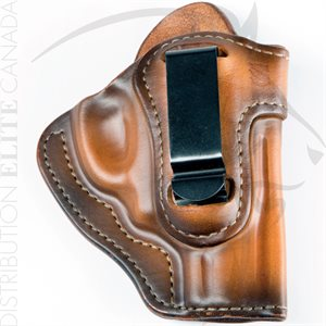 BLACKHAWK PREMIUM LEATHER ISP HOLSTER WITH CLIP