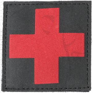 BLACKHAWK RED CROSS MEDIC ID PATCH