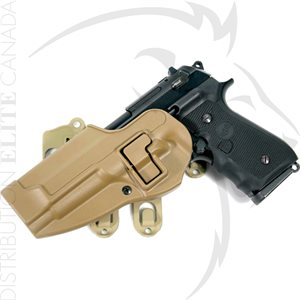 BLACKHAWK S.T.R.I.K.E. PLATFORM WITH SERPA HOLSTER (BERETTA ONLY)