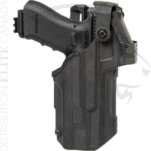 BLACKHAWK T-SERIES L3D LIGHT BEARING RED DOT SIGHT DUTY HOLSTER