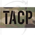 INFRARED ID IR LASER CUT FLAG PATCH 2x3.5in - CUSTOM