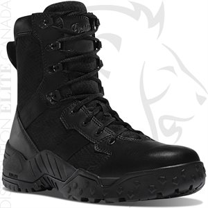 DANNER SCORCH SIDE-ZIP 8in BLACK HOT