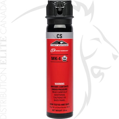 DEF-TEC FIRST DEFENSE MK-4 - 3.0oz - CS / GEL