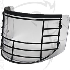 PREMIER CROWN BLACK GRILL FACE SHIELD F / MODEL 906 HELMET