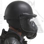 PREMIER CROWN GAS MASK FACE SHIELD - 906 RIOT HELMET