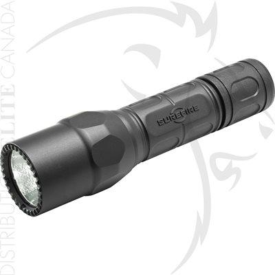 SUREFIRE G2X PRO 6V 15 / 600 LU WH LED POLYMER & ALUM - BLACK
