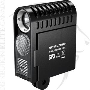NITECORE GP3 360 LU USB RECHARGEABLE ACTION CAMERA LED LIGHT