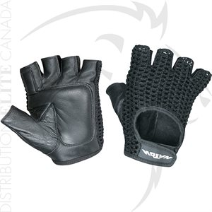 HATCH AV500-B HALF FINGER MESH BACK GLOVES