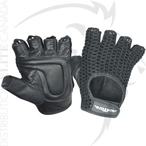 HATCH BR607 HALF FINGER MESH BACK PADDED GLOVES