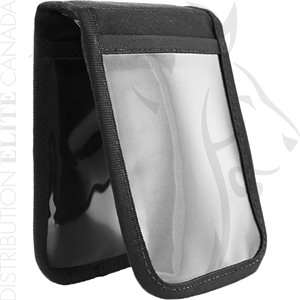 HI-TEC 3.5X5in NOTEPAD COVER W / 4 CLEAR POCKETS
