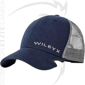 WILEY X NOTCH SNAPBACK BLUE / GREY - ONE SIZE ADJ