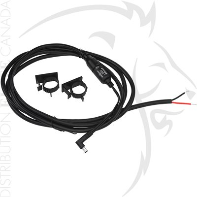 NIGHTSTICK DIRECT WIRE KIT - 12V - RIGHT ANGLE