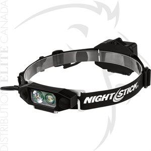 NIGHTSTICK LOW-PROFILE DUAL-LIGHT HEADLAMP