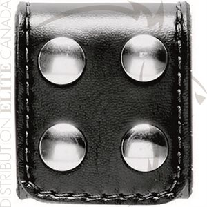 SAFARILAND 654 SLOTTED BELT KEEPER EXTRA-WIDE (4-SNAP)