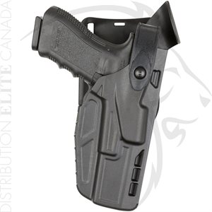 SAFARILAND 7285 7TS SLS LOW-RIDE DUTY HOLSTER LEVEL II