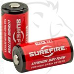 SUREFIRE 2 SF123A BATTERIES - CARDED