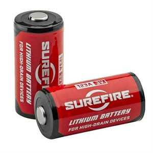 SUREFIRE 1 SF123A BATTERIES (PK 2)