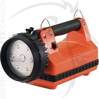 STREAMLIGHT E-FLOOD FIREBOX - 120V / 100V AC / 12V DC - ORANGE