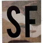 INFRARED ID IR SQUARE SIGN PATCH 2x2in - CUSTOM